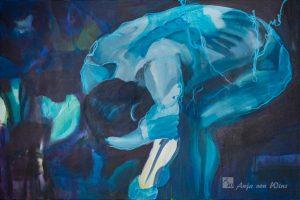 """Anja von Wins, Berührte Tiefen, Bild """"Blue Oyster"""""""